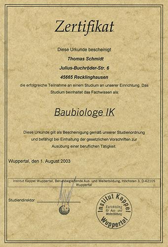 Baubiologe